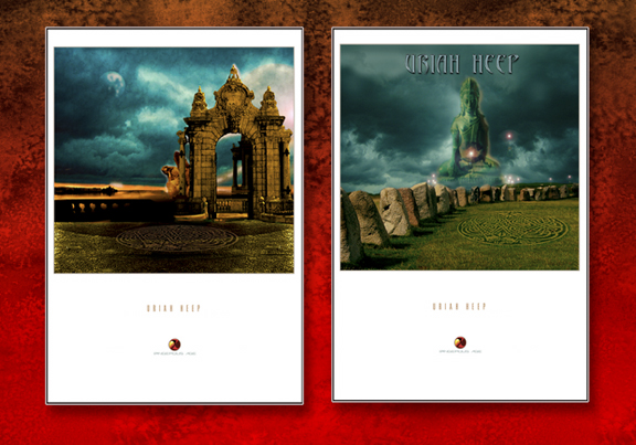 URIAH HEEP EXCLUSIVE PRINT SET