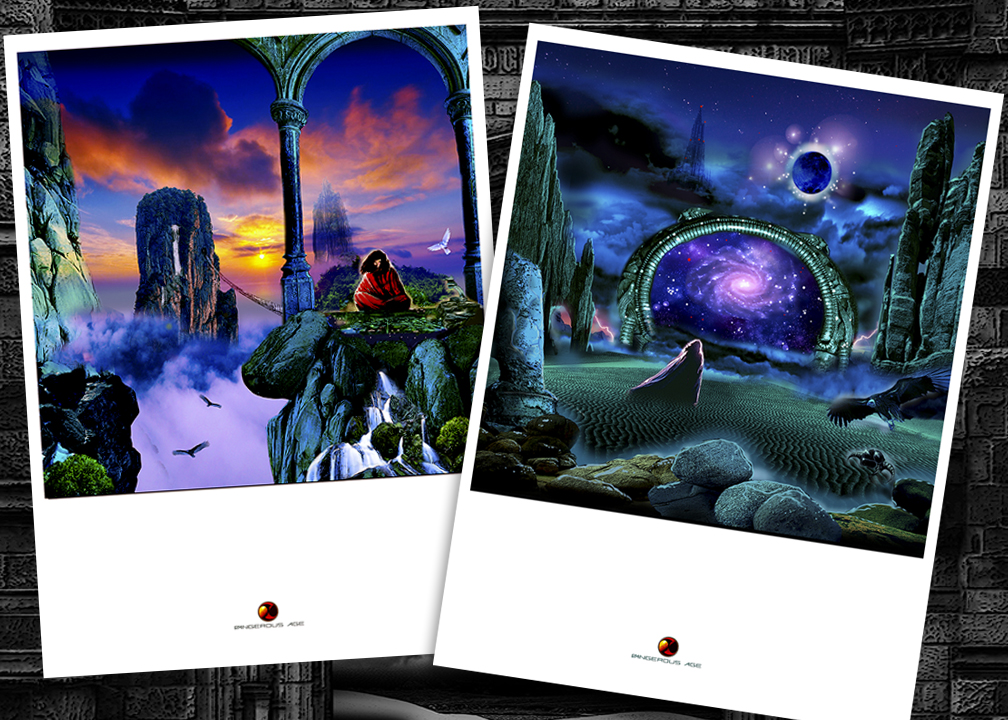 FATES WARNING 30th ANNIVERSARY AWAKEN THE GUARDIAN LIVE PRINT SET