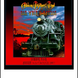 THE ALLMAN BROTHERS BAND , BOB WEIR & RATDOG : TOUR ART 2007