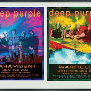 DEEP PURPLE: COMMEMORATIVE TOUR ART