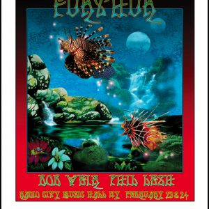 BOB WEIR & FURTHUR 2010 Special Collector's Edition Artwork
