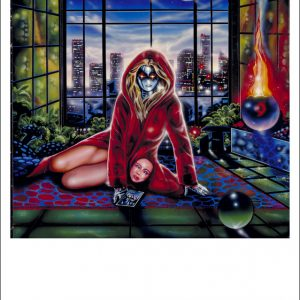 OBSESSION  RECORD COVER ART 1987 ENIGMA