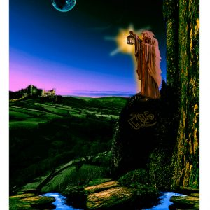 THE HERMIT FROM ZEPPELIN IV  ARTWORK FROM GET THE LED OUT
