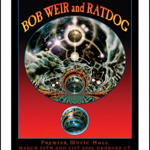 BOB WEIR and RATDOG: CONCERT PRINT 2006