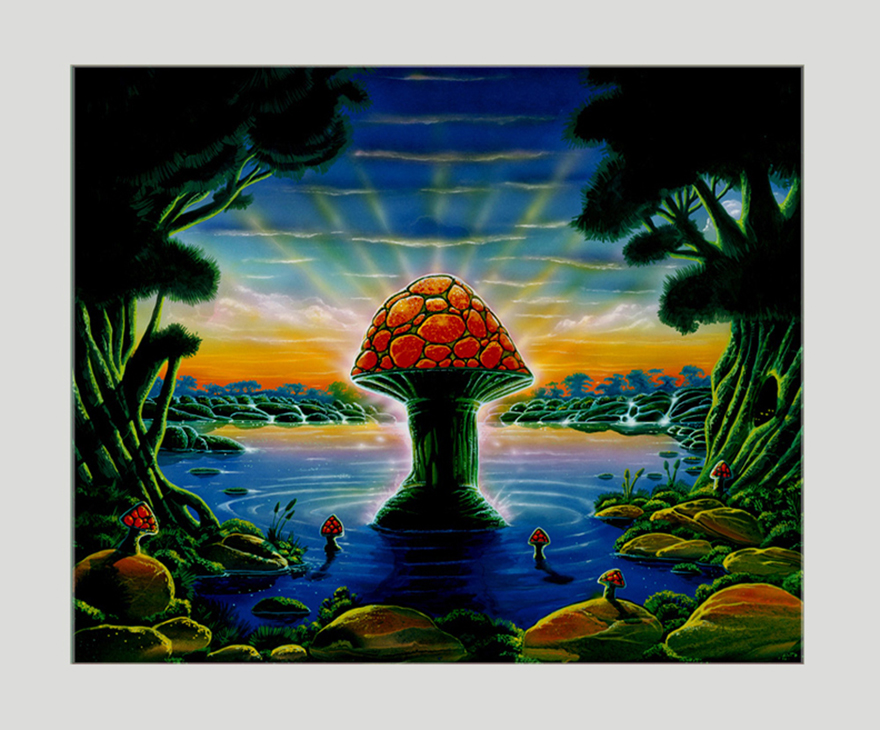 ALLMAN BROTHERS BAND: ORIGINAL PAINTING WHERE IT ALL BEGINS