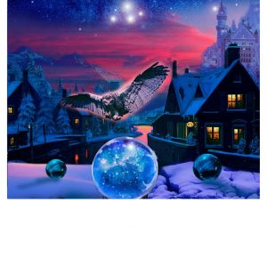 THE WIZARDS OF WINTER -THE MAGIC OF WINTER LIMITED EDITION PRINT