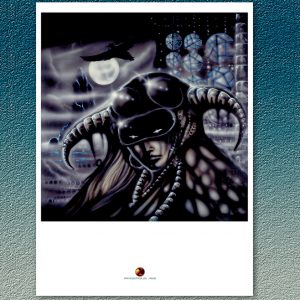 FATES WARNING 30th ANNIVERSARY SPECTRE WITHIN PRINT