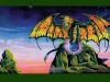 BON JOVI TOUR ART 1995 DRAGONSLAYER