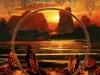 URIAH HEEP INTO THE WILD UNUSED ART