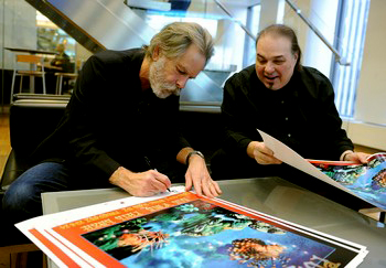 MUSIC LEGEND BOB WEIR AND RENOWNED ARTIST IOANNIS CELEBRATE PARTNERSHIP WITH T.J. MARTELL FOUNDATION